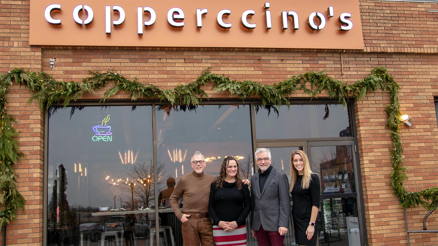 Copperccino's Coffee House to Open After Receiving Grant from Community Foundation