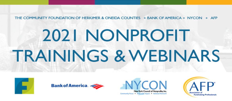 Community Foundation Offering Free Nonprofit Webinars