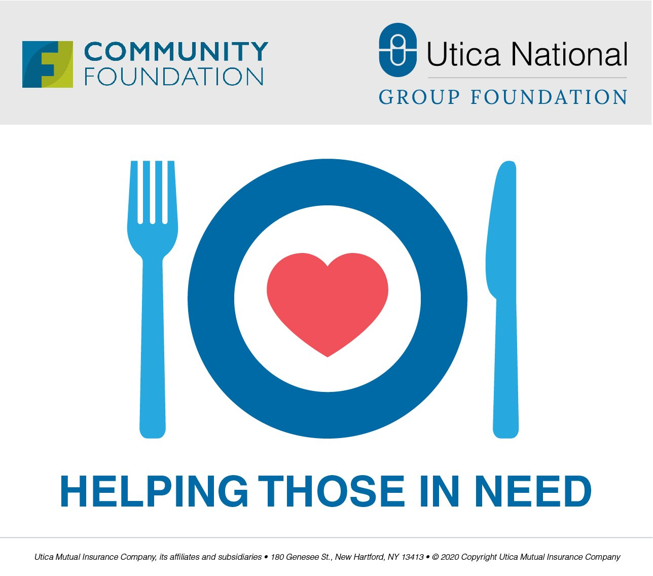 Utica National Group Foundation Awards $250,000 to Food Pantries and Soup Kitchens